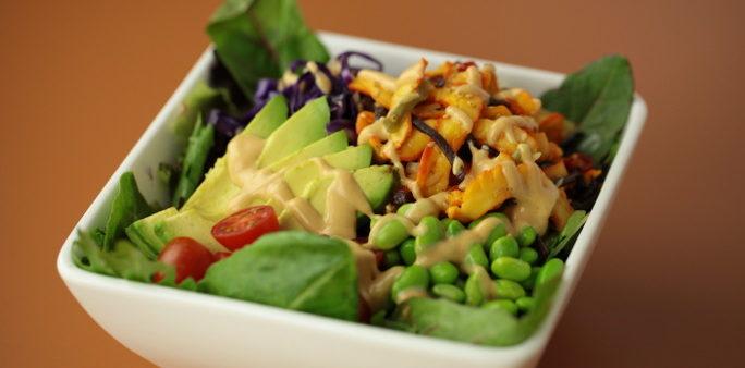 Calamari Green Salad