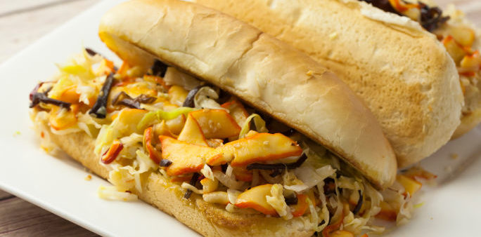 Calamari Roll Sandwich