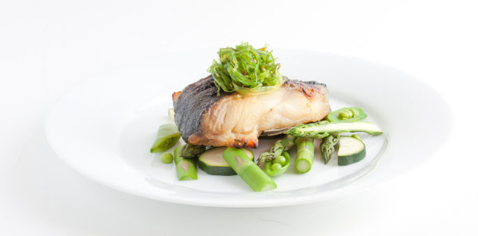 Grilled Seabass Platter
