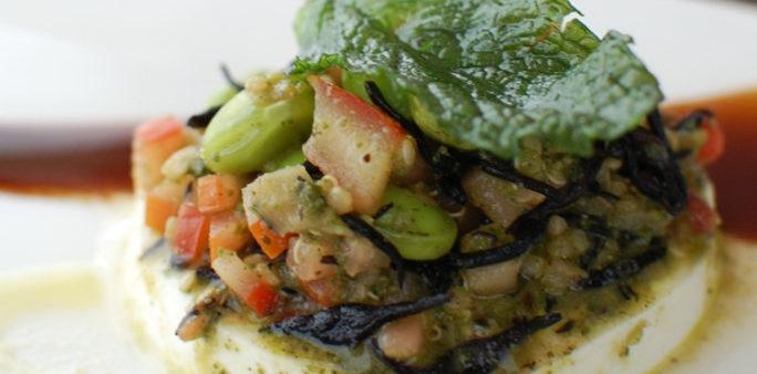 Hijiki Quinoa Caprese