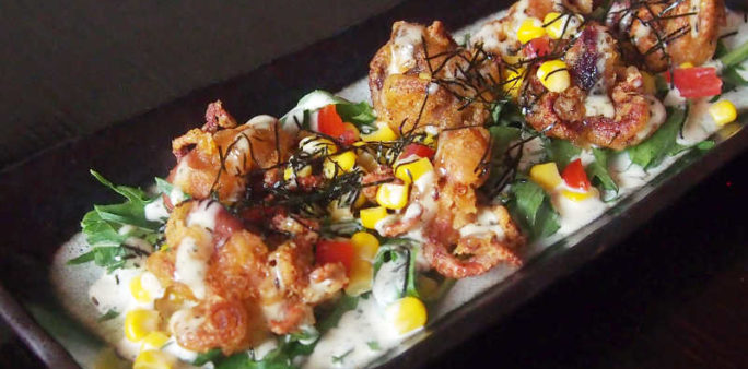 Iidako Karaage Salad