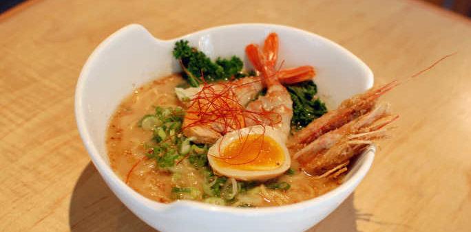 Seafood Ramen with Ankimo