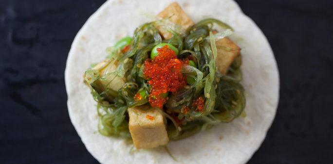 Tofu Poke Taco