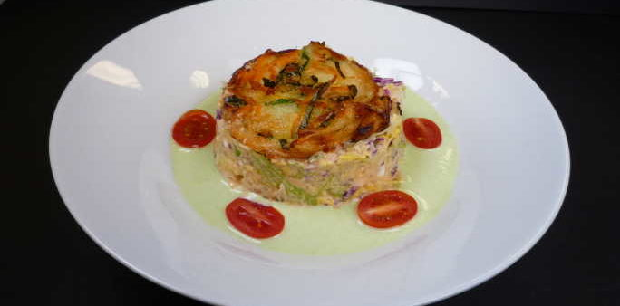 Veggie Salad Tartare